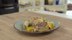 Μπριαμ με κοτόπουλο στο φούρνο
