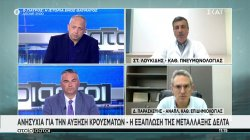 Λουκίδης - Παρασκευής: Ανησυχία για την αύξηση κρουσμάτων - Η εξάπλωση της μετάλλαξης Δέλτα
