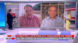 Σαρηγιάννης - Μανωλόπουλος για την αύξηση σε διασωληνωμένους και νεκρούς