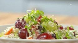 Πράσινη σαλάτα με σταφύλια και κινόα | Ώρα για φαγητό με την Αργυρώ | 15/09/2021