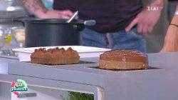 Ψητή κρέμα σοκολάτας με μπανάνα από τον Διονύση Αλερτά