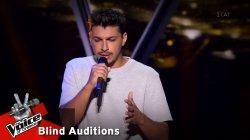 Γιώργος Βασιλείου: Μισή καρδιά   The Voice of Greece   8η Σεζόν