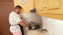 Ξεκινάει το μαγείρεμα