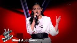 Θεονύμφη Χριστάκη: Anyone   The Voice of Greece   8η Σεζόν