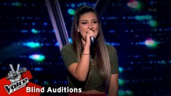 Βίκυ Καψάλη: Layla   The Voice of Greece   8η Σεζόν