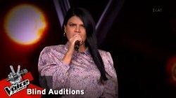 Ιωάννα Φουρτάκα: Μιρέλα   The Voice of Greece   8η Σεζόν