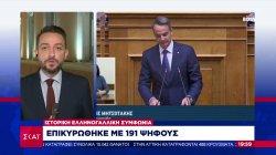 Ιστορική ελληνογαλλική συμφωνία - Επικυρώθηκε με 191 ψήφους