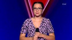 Κριτική στη Χριστίνα Μπαρζούκα   Blind Auditions   The Voice of Greece   S08