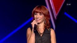 Κριτική στην Χριστίνα Μπαγκντασαρίδου   Blind Auditions   The Voice of Greece   S08