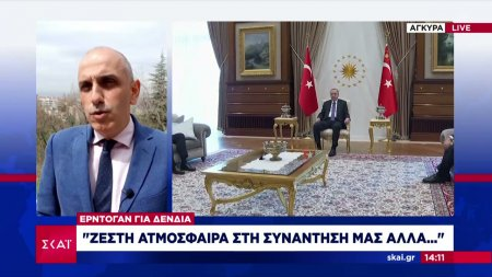 Ο Ερντογάν για τη δημόσια αντιπαράθεση Δένδια - Τσαβούσογλου
