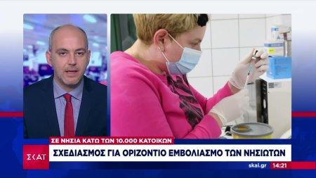 Οριζόντιος εμβολιασμός σε νησιά κάτω των 10.000 κατοίκων