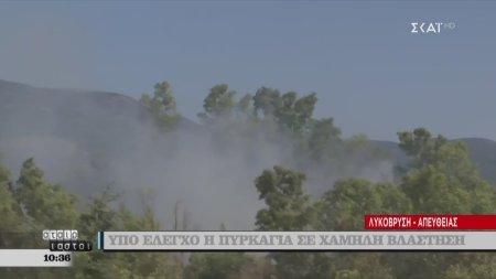 Αταίριαστοι | Υπό έλεγχο η πυρκαγιά στη Λυκόβρυση | 28/08/2019