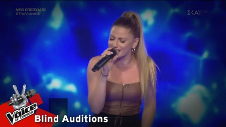 Ειρήνη Τσοκούνογλου - Δεν θέλω να ξέρεις | 2o Blind Audition | The Voice of Greece
