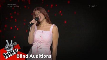 Ελευθερία Αναγνώστου - Όταν σου χορεύω | 1o Blind Audition | The Voice of Greece