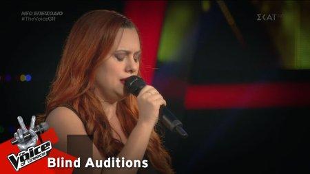 Ερωφίλη Τζάνου - Απέναντι | 2o Blind Audition | The Voice of Greece
