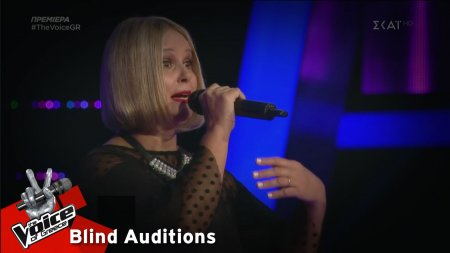 Louise Du Toit - Nessun Dorma | 1o Blind Audition | The Voice of Greece