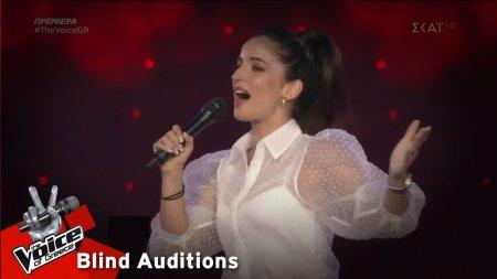Πέννυ Παπαγεωργίου - Βενζινάδικο | 1o Blind Audition | The Voice of Greece