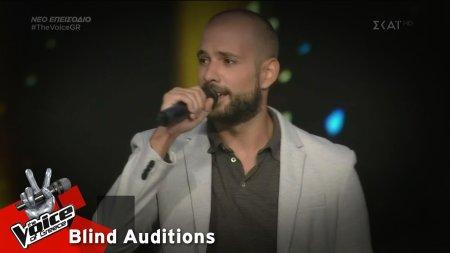 Σταύρος Τζινίδης - Κάτσε Καλά | 2o Blind Audition | The Voice of Greece