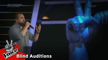 Στέλιος Χατζηαβραμίδης - Σκόνη | 2o Blind Audition | The Voice of Greece