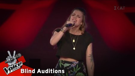 Aggi - You've Got the Love | 8o Blind Audition | The Voice of Greece