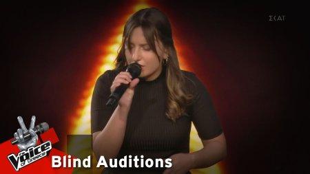 Μαρία Αισιοπούλου - Sober | 7o Blind Audition | The Voice of Greece