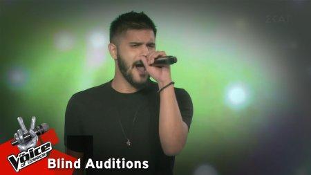 Αλέξανδρος Καλατζής - Ο Μπάμπης ο Φλου | 5o Knockout | The Voice of Greece