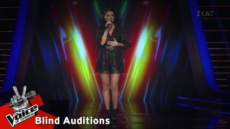 Angelina Statyeva - Lule Lule | 10o Blind Audition | The Voice of Greece