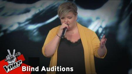 Ειρήνη Ασημοπούλου - Μοιρολόι (Ήλιε φονιά) | 4o Blind Audition | The Voice of Greece