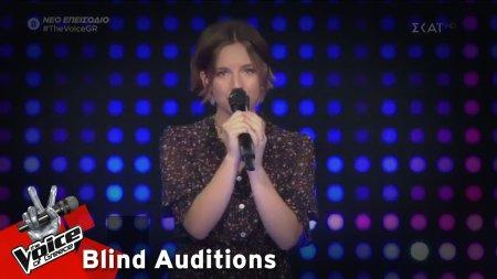 Γεωργία Δανηιλίδου - Riptide | 3o Blind Audition | The Voice of Greece