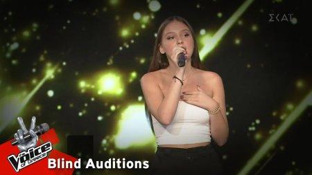 Κωνσταντίνα Ευαγγελοπούλου - All i ask | 9o Blind Audition | The Voice of Greece