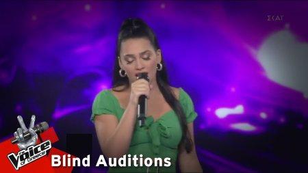 Αναστασία Κουρκούτα - Give It To Me Right | 4o Blind Audition | The Voice of Greece