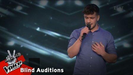 Λάμπης Γιακουμάκης - Ανόητες αγάπες | 10o Blind Audition | The Voice of Greece