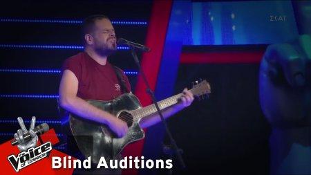 Δημήτρης Σμυρνιάδης - Μαζί σου | 4o Blind Audition | The Voice of Greece