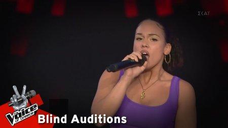 Βάλια Δήμου - Breathe | 7o Blind Audition | The Voice of Greece