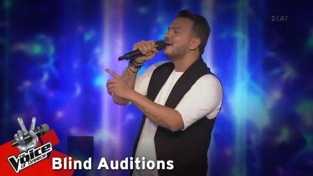 Θοδωρής Βερλής - Sar penen | 7o Blind Audition | The Voice of Greece