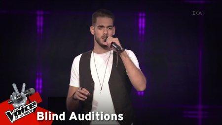 Γιώργος Χουβαρδάς - Δεν έχω που να πάω | 6o Blind Audition | The Voice of Greece