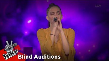 Ειρήνη Αδαμοπούλου - Breathing | 12o Blind Audition | The Voice of Greece
