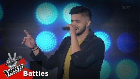 Αλέξανδρος Καλαντζής - Disco Girl | 3o Knockout | The Voice of Greece