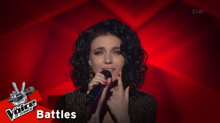 Angelina Statyeva - Don't cry for Louie | 3o Knockout | The Voice of Greece