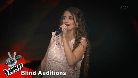 Άννα Σαΐνη - Libiano ne' Lieti Calici | 13o Blind Audition | The Voice of Greece