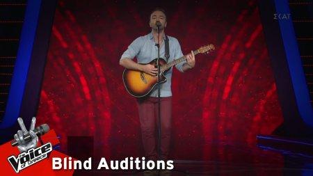 Ηλίας Αποστόλου - Μέχρι Αίμα Να Βγεί | 11o Blind Audition | The Voice of Greece