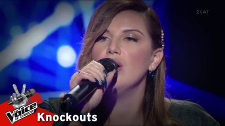 Μαρία Αθανασιάδη - Empire state of mine | 4o Knockout | The Voice of Greece