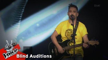 Μπάμπης Παναγιωτόπουλος - Κι έμεινα εδώ | 13o Blind Audition | The Voice of Greece