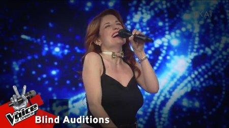 Εύα Βλαχοπούλου - Τσάρλι Τσάπλιν | 14o Blind Audition | The Voice of Greece