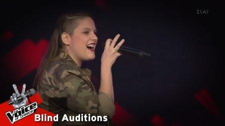 Εβίτα Βαλέρη - Αδώνις | 13o Blind Audition | The Voice of Greece