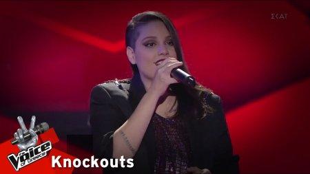 Εβίτα Βαλέρη - Εγώ μιλάω για δύναμη | 4o Knockout | The Voice of Greece