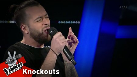 Δημήτρης Γεράρδος - All of me | 4o Knockout | The Voice of Greece