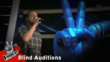 Γιώργος Γερογιάννης - Άστρα μη με μαλώνετε | 12o Blind Audition | The Voice of Greece