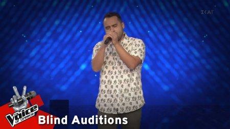 Έβαν Γιαννόπουλος - She Will Be Loved | 11o Blind Audition | The Voice of Greece