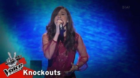 Κάλλια Γκρίνια - Κάποιος να με σύρει | 1o Knockout | The Voice of Greece